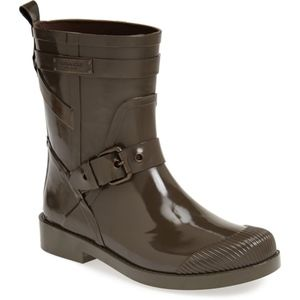 COACH |  Lester Shiny Rubber Rain Boot